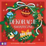 Dekoracje świąteczne / czerwone - Kolęda, ciekawostki, wypychanki, Natalia Berlik