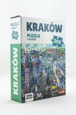 Puzzle Kraków 200  - + plakat,